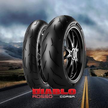 Pirelli Diablo Rosso Corsa resmi