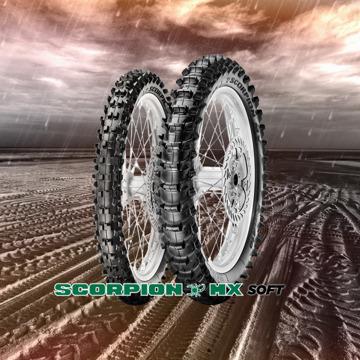 Pirelli Scorpion MX Soft resmi