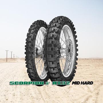 Pirelli Scorpion MX32 Mid Hard resmi