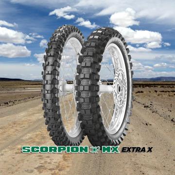 Pirelli Scorpion MX Extra X resmi